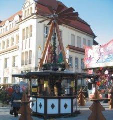 Unsere Weihnachtspyramide